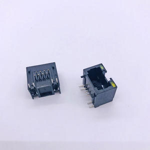 RJ45 56E 1x1 without shell with lamp