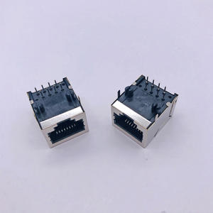 RJ45 59B 2x4 long shell Connector