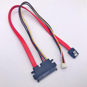 SATA 7+15 TO SATA 7P LOCK PH2.0 4P CABLE
