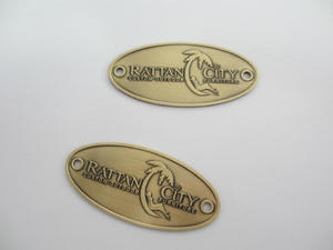 Custom Antique Name Plate For Furniture