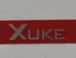 silkscreen print silver logo plate