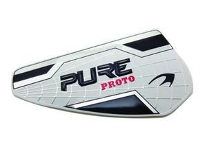 Custom 3D Metal Golf Ball Head Logo Labels