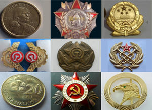 wholesale Zinc alloy badges zinc alloy die casting logo manufacturer from China