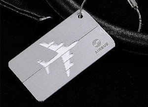 Custom Engraved Personalized Metal Luggage Tags