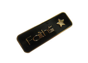 Custom Zinc alloy die casting craft nameplate