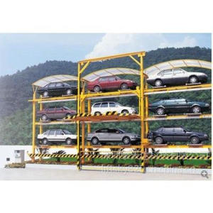 Fully Automatic Parking,Six Layers Lifting and Moving Parking Equipment Car Parking System ,stereo garage