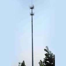 Single tube tower-Monopole tower