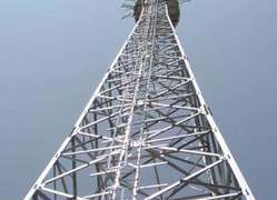 angle steel tower Angle Tower iron tower supplier GH-AAA Lattice structure supply Lattice tower light pole tower lightning tower steel pylon CQS steel pylon BQS