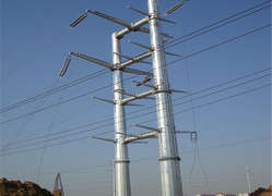 3-leg angle steel cellular tower Electric transmission line steel tower  electricity pylons kv ac power transmission lines Lattice structure Lattice tower Power Transmission Line Steel Angle Tower power line tower transmission line steel pole transmission line construction