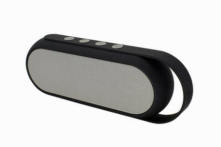 Altavoz Bluetooth con materiales de tela