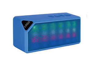 Super Subwoofer Bluetooth Speaker With Dancing LED Light  Portable Wireless Handsfree Speakers USB/TF Palying FM Radio