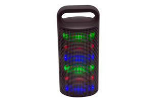 portable fashion handle design led  wireless speaker