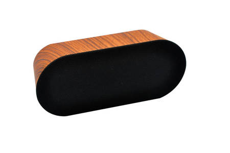 Portable Bluetooth Speaker with Wood