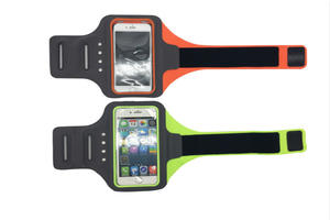 Batteryless self-powered armband for cell phone with LED Light