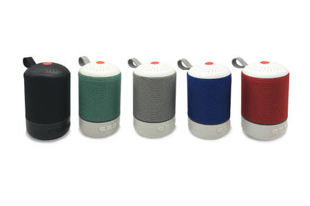 Portable Cylinder Shape Haut-parleur Bluetooth