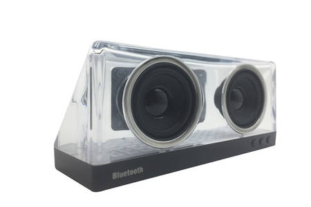 Transparent Bass Bluetooth Speaker