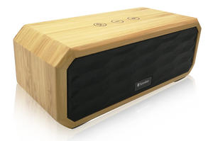 Wooden Bluetooth Speakers Hands-free Micphone Portable Stereo Digital Speaker Bamboo Wooden Mini Speaker