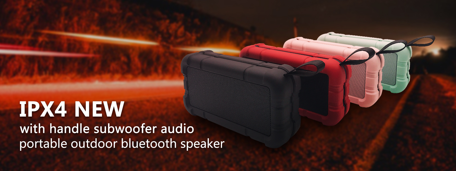 mini portable bluetooth speaker banner