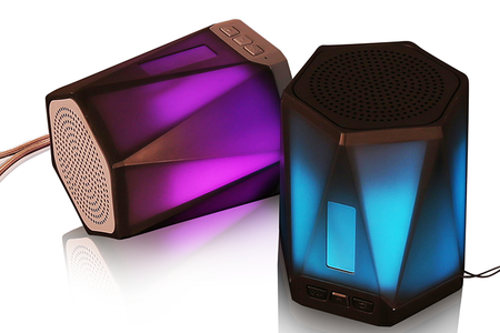 10W Loudspeaker Bluetooth With Led Light