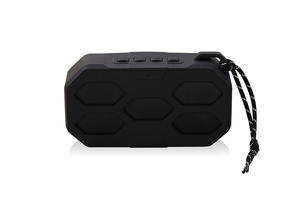 Hot Sale Handle Hexagon Bluetooth Speaker With FM Radio Computer Gift Speakers SD Card Gift Speaker