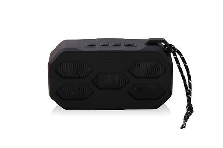 Portable Wireless Bluetooth Speaker con mango cilindrico