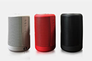 Made in China High Power Baseball 5w Powerbank Barrel Bluetooth Column Speaker