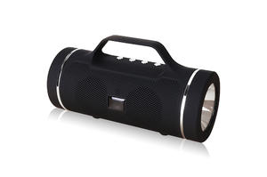 EPS219-- 2019 Portable Speaker With Handle Supports Micro SD Card / USB Flash Drive / FM Radio /AUX IN Functions For Outdoor Gift Flashlight Speaker