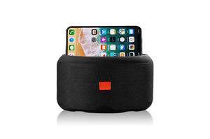 New Fabric Bluetooth Speaker with Phone Holder