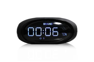 EPS196--Desktop Bluetooth Mini Speaker Wireless Portable Subwoofers Speaker With Time Alarm Clock Handsfree Support USB And TF Card Playing