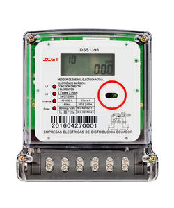 Two-phase Three-wire Energy Meter DSS1398