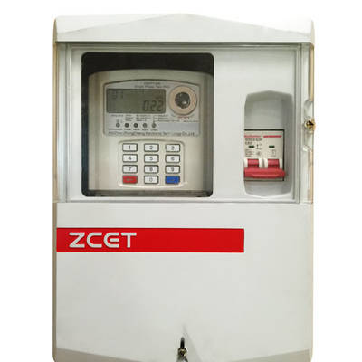 Single-phase Keypad Meter Box ZC1399-PD01-HW-01