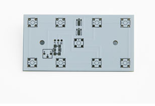pcb d'aluminium pour LEDaluminum pcba pour LEDAluminum PCB Manufacturerone layeradvanced précision pcbhigh conduit boardled tour conduit pcbaquick circuit pcbled boardled carte de circuit d'affichage