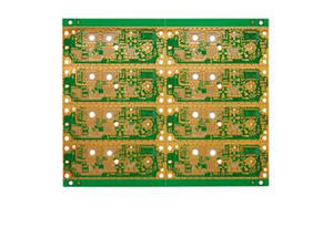 Doubled-sided High Frequency Communication System PCB