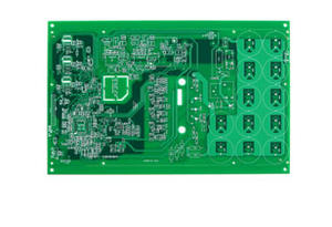 Multilayer heavy copper fueling control system PCB