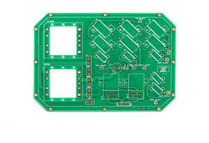 Heavy copper industrial control system PCB
