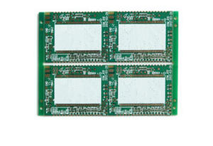 4-layer Half-holes Plated PCB