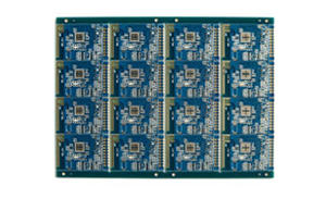 4-layer Half-holes PCB