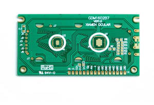 Immersion gold Bonding Pads LCD module PCB