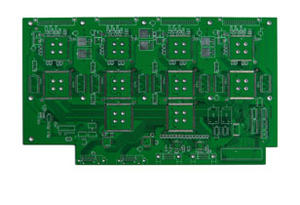 Battery monitor 6-layer HASL PCB