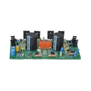 Low cost power amplifier pcb assembly board