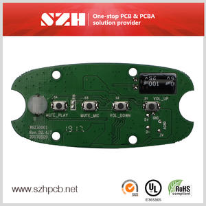 Call Center Headset Audio Player Circuit Board PCB supplier