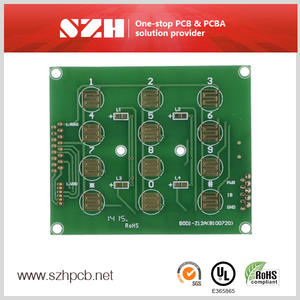 Access Control Hotel Digital Lock FR4 PCB Board