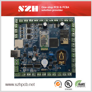 Multifunction garbage truck controller smd pcb assembly