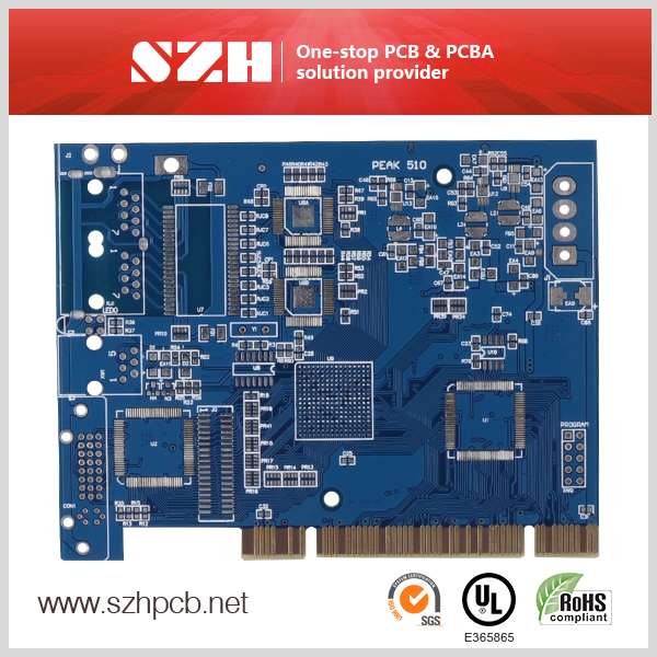 blank printed circuit board