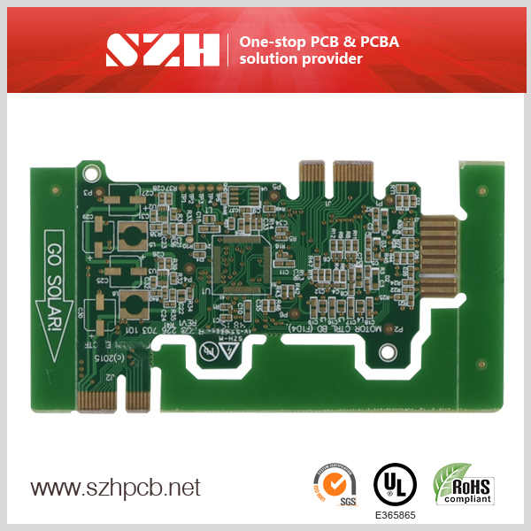 Промышленный контроль Gold Finger 4 Layer PCB Supplier