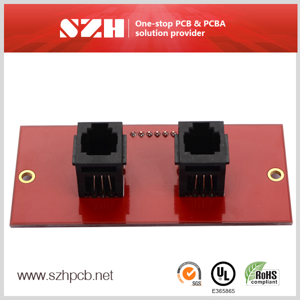 professional pcba in RJ11 connector firework control