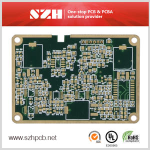 Multilayer Edge Plated Medical Devices PCB Board