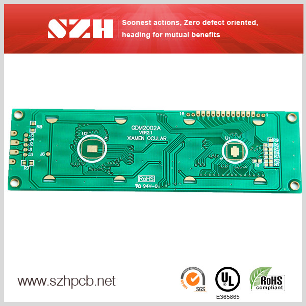 IC Bonding Board LCD Modules PCB Supplies