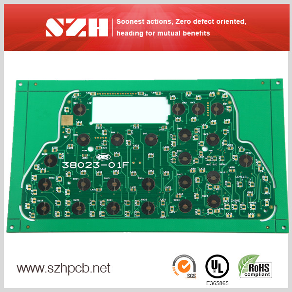 Carbon Print Blind Buried Vias Medical Devices PCB