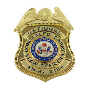 Brilliant Is A Leading Manufacturer For Custom Police Badges In Premium Quality